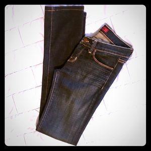 J Brand Dark Wash Cigarette Leg Skinny Jeans
